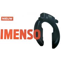 AXA IMENSO LARGE (75MM) RINGSLOT ART-2 ZWART