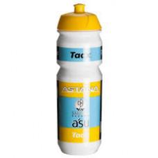 TACX ASTANA PROTEAM BIDON 750 ML GEEL - ZWART - LICHT BLAUW T5795.01