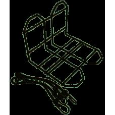 HZB DRAGERVERBREDER / KRAT/TAS-MEE ZWART 6400465