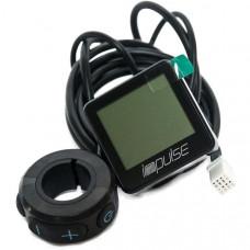 GAZELLE DISPLAY LCD MET NAAF IMPULS ZWART NEXT GENERATION 998501500