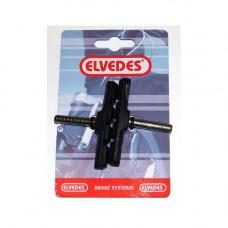 ELVEDES 6808-CARD 70MM CANTILEVER REMBLOKSET OP KAART