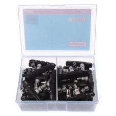 ELVEDES 6806-BOX V-BRAKE REMBLOKKEN 72MM PER 25 SETS