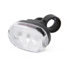 IKZILIGHT LED KOPLAMP 3 LEDS WIT INCLUSIEF BATTERIJEN OP KAART
