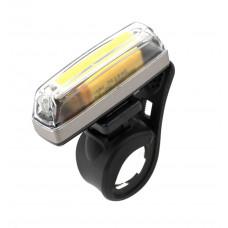 IKZILIGHT STRAIGHT25 KOPLAMP MET WITTE COB LED-STRIP + USB