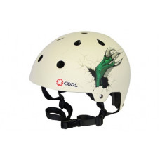 QT CYCLE TECH XCOOL 2.0 HELM THE CLAW WHITE 55-58 CM BLISTER 2810926