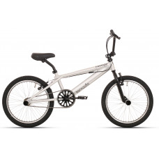 """BMX FREESTYLE 20"""" INCH ALLOY BRUSH ZWARTE BANDEN 2000033"""