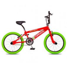 """BMX FREESTYLE 20"""" TORNADO ROOD/GROEN 2000016"""