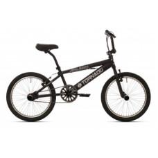 """BMX FREESTYLE 20"""" TORNADO MAT ZWART 2000005"""