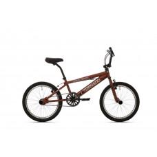 BMX FREESTYLE 20 INCH TORNADO MAT DONKER BRUIN / ZWART 2000031