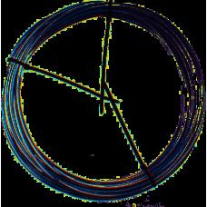 ELVEDES BUITENKABEL REM 5MM CHROOM MET TEFLON 10M 1125LSR-7