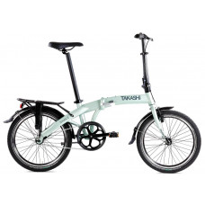 TAKASHI VOUWFIETS SINGLE 20 INCH REMNAAF ICEGREEN
