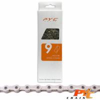 PYC FIETSKETTING 9 SPEED E-BIKE 1/2X11/128 116 SCHAKELS 6.5MM OP KAART